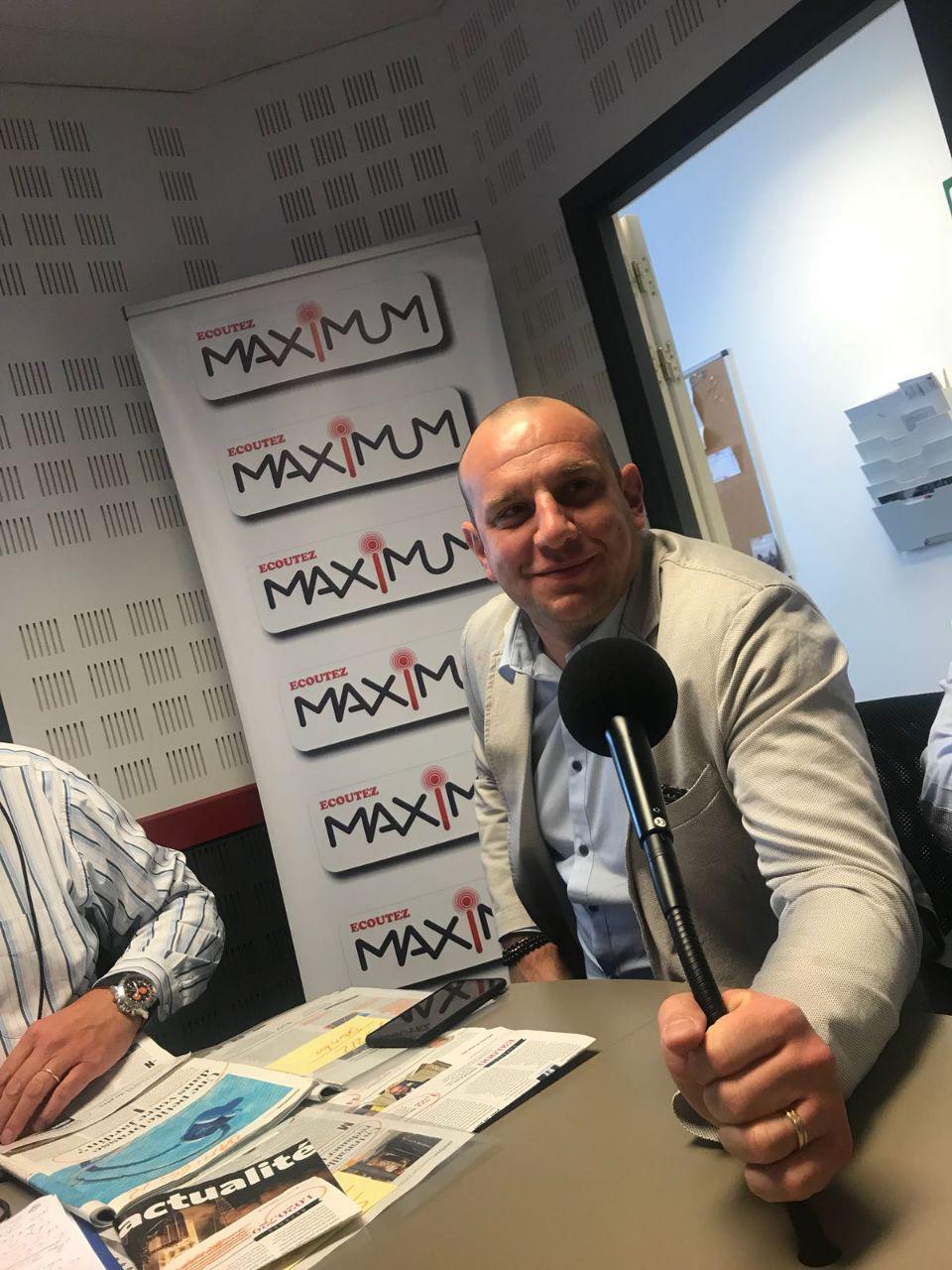 Kiwix sur Maximum FM